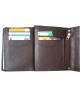 Peňaženka kožená pánska hnedá 106