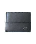 Peňaženka kožená pánska čierna VK3 Linea