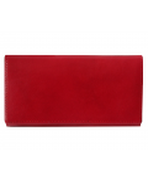 Peňaženka kožená dámska tmavočervená R005