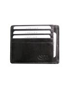 Púzdro pre kreditné karty čierne 226