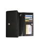 Peňaženka kožená dámska čierna VK10