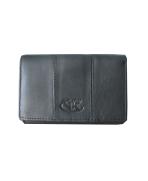 Peňaženka kožená dámska čierna VK17NA