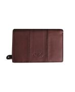 Peňaženka kožená dámska hnedá VK17NA