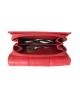 Peňaženka kožená dámska červená VK17NA