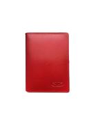 Púzdro pre doklady a kreditné karty dámske červené M225