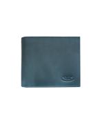 Peňaženka kožená pánska modrošedá M200