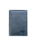 Peňaženka kožená pánska modrošedá M206 R