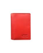 Peňaženka kožená dámska červená M221