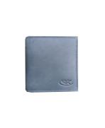 Peňaženka kožená dámska modrosivá M222