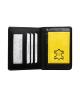 Púzdro pre doklady a kreditné karty dámske čierne M225