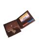 Peňaženka kožená pánska hnedá VK 2