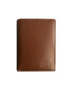 Peňaženka kožená pánska cognac VK6