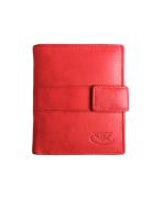 Peňaženka kožená červená VK34 L