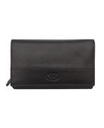 Peňaženka kožená dámska čierna VK36 Linea