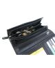 Peňaženka kožená dámska čierna VK71 linea