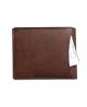 Peňaženka kožená pánska hnedá VK3R