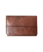 Peňaženka kožená dámska hnedá VK17 Linea