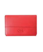 Peňaženka kožená dámska červená VK17NA Linea
