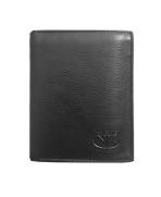 Peňaženka kožená pánska čierna VK 02