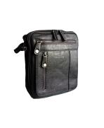 Pánska taška cross body  čierna  6591