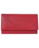 Peňaženka kožená červená VK7