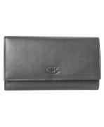 Peňaženka kožená dámska čierna VK71